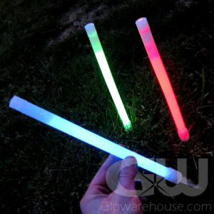 10 Inch Glow Sticks with Ground Stake