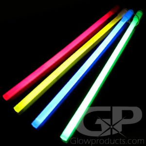 12 Inch Glow Sticks - Assorted Color 20 Piece Pack