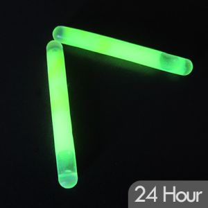 2 inch glow sticks with 24 hour glow
