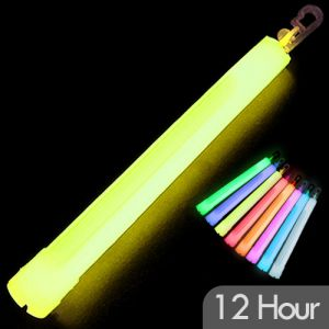 6 Inch Glow Stick with Long Lasting 12 Hour Glow