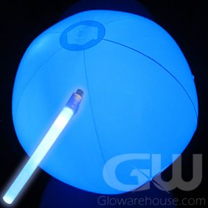 LED Light Beach Balls