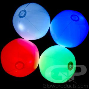 Light Up Beach Balls Assorted Color Mix