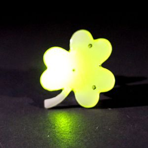 Shamrock Flashing Pin Body Lights