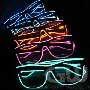 Glowing Light Up Eye Glasses