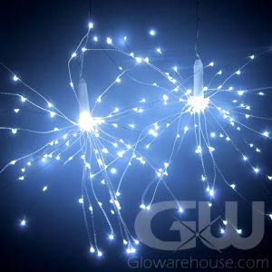 LED White String Lights Starburst