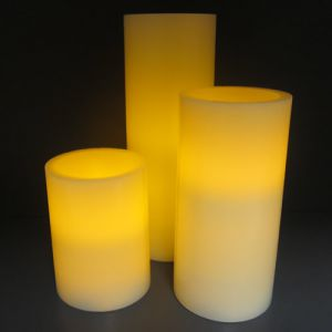 Flameless LED Candles Set of 3