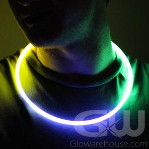 22 Inch Glow Necklaces - Mardi Gras