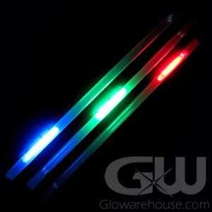 Liquid Chasing Glowing Light Straws