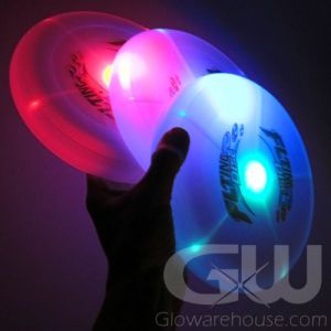 Lighted LED Glowing Frisbees