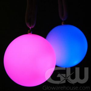 Glow Poi Balls with LED Lights