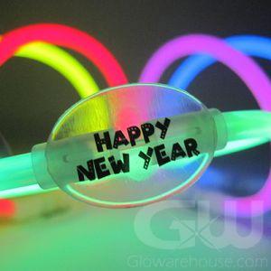New Years Glow Stick Bracelets