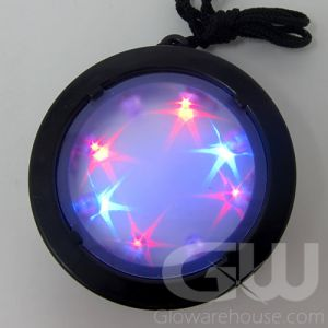 LED Infinity Starburst Necklace