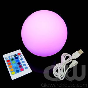 Glowing Ball Lamp with Remote