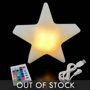Star Shape LED Mood Lamp with Remote