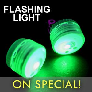 Flashing LED Mini Clip Light