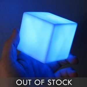 Light Up LED Cube Lamp