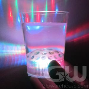 LED Disco Light Show Drink Glass