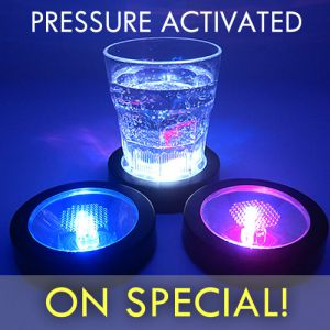 LED Light Up Coasters