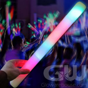 Glowing LED Foam Cheer Sticks