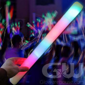 Glowing LED Foam Cheer Sticks