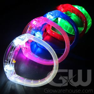 LED Bracelets - Glowing Bangle Wristbands
