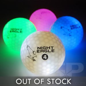 Light Up LED Golf Balls Assorted Color Mix Pack