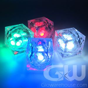 Glow LED Ice Cubes Mix of Colors
