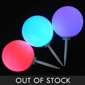 Spike Marker LED Balls with Ground Stake