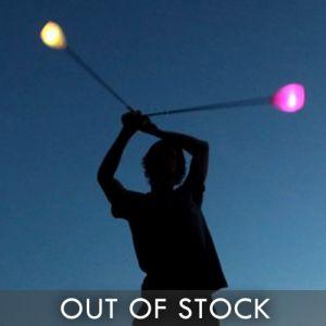Spinning Light Up Poi Balls