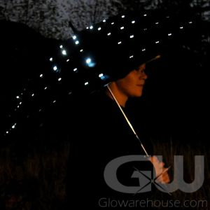 LED Lighted Umbrella