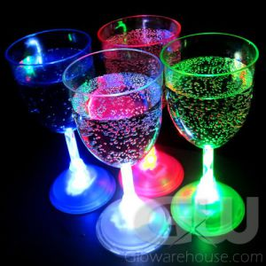 Light Up Glow Wine Glasses