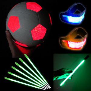 Light Up Soccer Sports Set