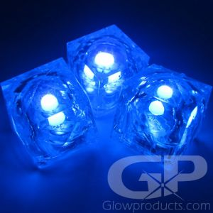 UV Black Light LED Ice Cubes