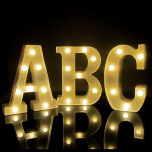 Light Up Marquee Letter Lamp Light