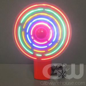 Light Up LED Glowing Pocket Fans