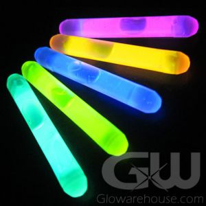 1.5 Inch Mammoth Mini Glow Sticks