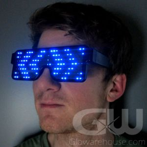 LED Display Glow Shutter Shades