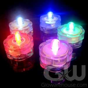 Glowing Submersible LED Water Lights