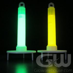 """4"""" Safety Glow Sticks with Stands"""