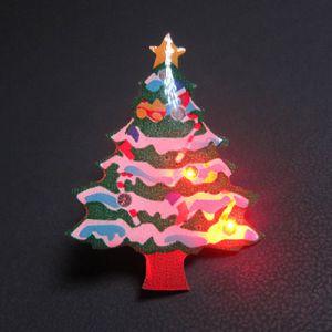 Christmas Tree Flashing Pins