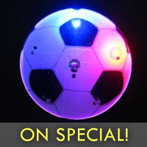 Soccer Ball Flashing Pin Body Lights