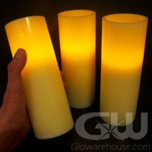 """8"""" LED Flameless Pillar Candles"""