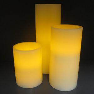 Flameless LED Candles Set of 3