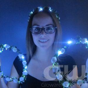 Light Up Floral Headband