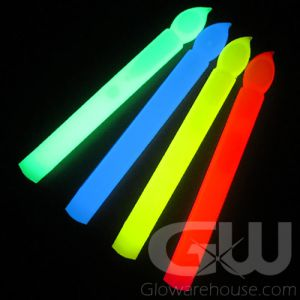 Glow Stick Candles - Assorted Colors 48 piece pack