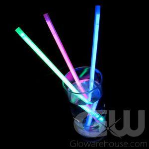 Glowing Drink Straws