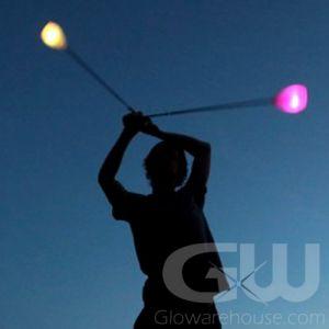 LED Light Poi Balls