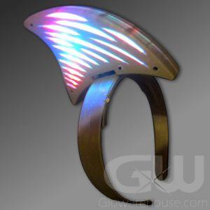 Glow LED Shark Fin Head Band