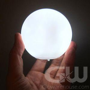 Glowing Orb White Light Lamp