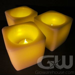 Flameless 3 Inch LED Battery Powered Candles